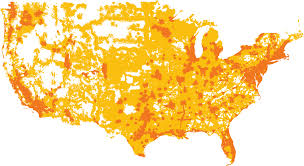 Cell Phone Service Map Us Mts