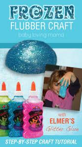 frozen flubber craft tutorial with elmer u0027s glitter glue glitter