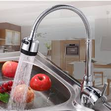 Solid Brass Kitchen Taps by Kcasa Kitchen Faucet Solid Brass Pull Swivel Tap Flexible