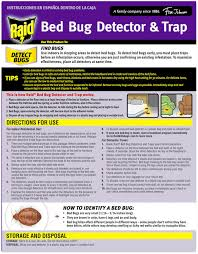 How To Make A Bed Bug Trap Raid Bed Bug Detector U0026 Trap 8 Ct Box Reviews