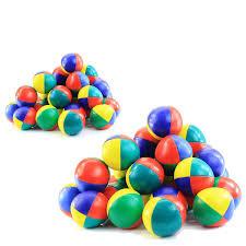 pro juggling bulk pack 60 balls juggling razed in flames