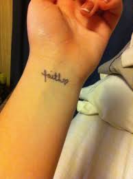 small wrist instead of the a cross would be soo