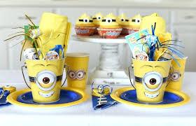 minions centerpieces minion party favor ideas despicable me party minion party theme