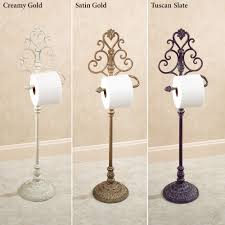 Toilet Tissue Holder Aldabella Wrought Iron Toilet Paper Stand