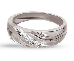 10k white gold wedding band mens gold wedding rings with diamonds wedding promise diamond