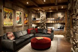 rustic home decorating ideas living room rustic living room decor ideas showing 3d presentation and plan of