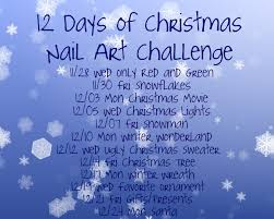 peace love lacquer 12 days of christmas nail art day 1 red and
