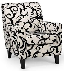 Black Accent Chairs For Living Room Dining Room The Striped Accent Chair Foter About Blue And White