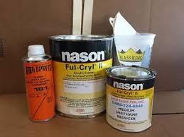 ghost white nason ful cryl ii acrylic enamel single stage
