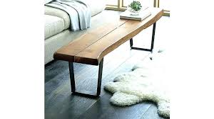 long skinny coffee table long narrow coffee table channel quilted velvet stocking coffee