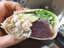 sriracha mayo kraft sushi burrito with spicy mayo sauce biolayne