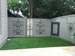 synthetic grass transforms backyard in new orleans turf innovations