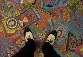Jw Floor Covering Jacqueline Wilson Exhibition Lynne Rickards Author