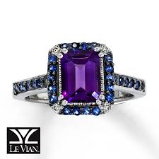 engagement rings awesome vintage amethyst jewelry in my box levian 14k white gold diamond amethyst