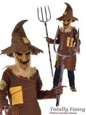 Scary Scarecrow Costume Evil Scary Scarecrow Costume Boys Halloween Horror Fancy Dress
