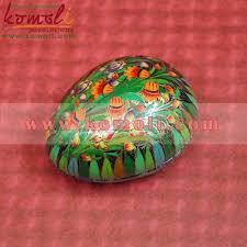 easter egg paper mache customized easter eggs paper mache greenery easter egg trinket