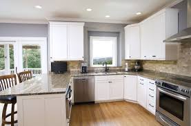 Traditional Kitchens With White Cabinets - kitchen extraordinary stone kitchen backsplash with white