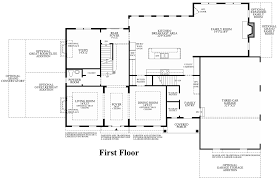 Kitchen Family Room Floor Plans Estates At Bamm Hollow The Hollister Home Design