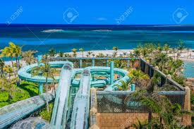 atlantis hotel atlantis hotel on paradise island in nassau bahamas stock photo