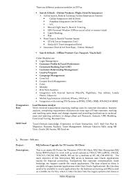 Cv Vs Resume Example by Lead Business Analyst Resume Of Nitin Khanna
