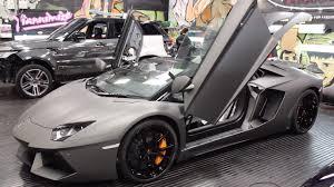 Lamborghini Aventador Grey - yiannimize satin grey lamborghini aventador youtube
