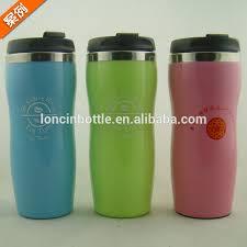 Office Coffee Mugs 12oz Starbucks Coffee Traveler Vacuum Travel Mug With Silicone