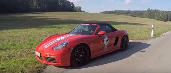 porsche boxster s horsepower mtm tuned porsche 718 boxster s review reveals 390 hp and meaty