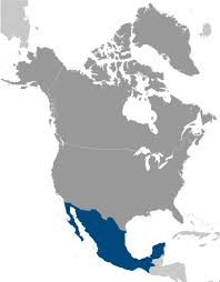mexico in the world map the world factbook central intelligence agency