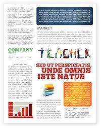 teacher of class newsletter template for microsoft word u0026 adobe