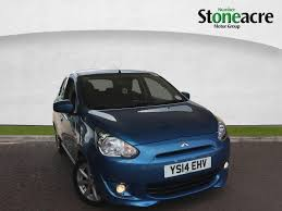 used 2014 mitsubishi mirage 1 2 3 hatchback 5dr petrol manual