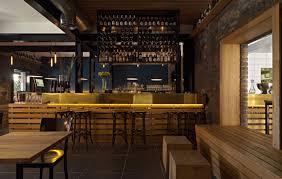 wood panel bar industrial rustic pinterest bar diy exterior