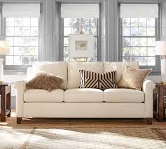 Quick Ship Sofas by Quick Ship Cameron Roll Arm Upholstered Sofa Pottery Barn