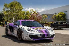 car wrapped in wrapping paper san diego car wraps for luxury vehicles ki studios
