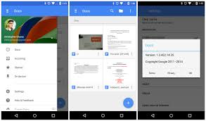 material design updates google drive docs sheets and slides