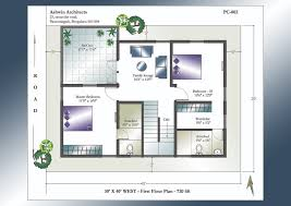 valuable design 30x40 2 story duplex house plans 5 bhk images