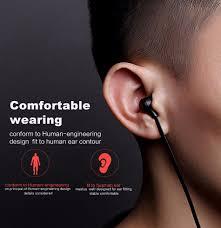 with mfi certification rock y8 in ear hifi stereo bass earphone