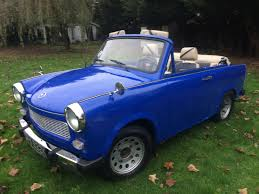 trabant 1972 trabant 601 convertible being auctioned at barons auctions