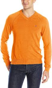 original penguin men u0027s v neck sweater cherry tomato x large best