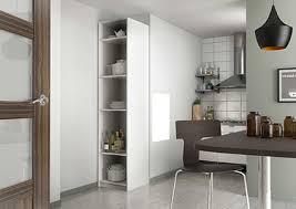 colonne de rangement cuisine armoire de cuisine sur mesure rangement design pratique