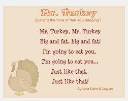 we hses turkey carols