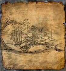 Khenarthi S Roost Treasure Map 1 Bleakrock Treasure Map I Exploring The Elder Scrolls And Other Games