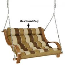 Swing Cushion Replacements by Shop 39 Inch Replacement Double Swing Cushion Royal Red Stripe