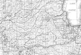 Table Rock Lake Map Georgetown Divide Maps El Dorado County Eldorado National Forest