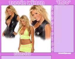 Torrie Wilson Thong - the not so nice torrie wilson