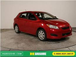 auto 4 porte used 2013 toyota matrix auto 4 porte ac grp elec for sale in