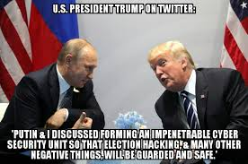 It Security Meme - trump putin discussed forming impenetrable cyber security unit