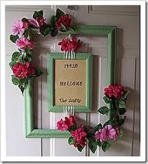 25 unique picture frame wreath ideas on picture frame