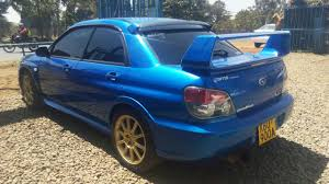 locally used subaru impreza wrx sti 2005 performance sports car