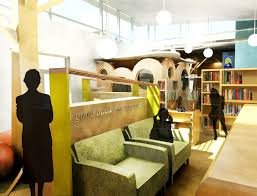 Library Interior Design Trendy C From How Long Is For Interior Design On Home
