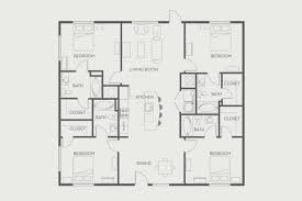 four bedroom floor plans woodlands 4 bedroom flat floorplan